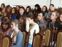 Pierwsza lekcja prawa w LO1 Olsztyn 2013.10.15